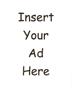 Insert Your Ad Here