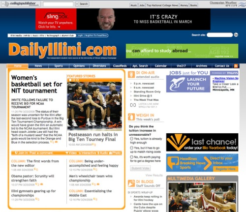 The Daily Illini, University of Illinois