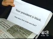 Racist Leaflet