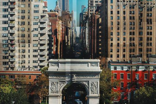 A screenshot of NYU Local's 'Collage' by staff photographer David Alvarez.