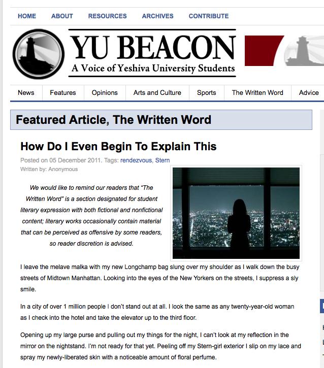 essay sparks campus uproar