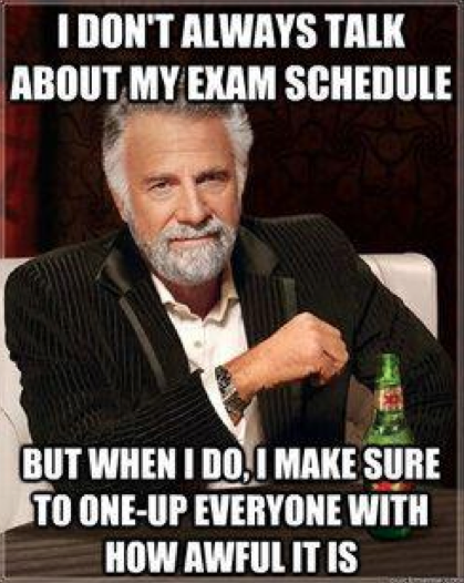 College Memes, Final Exams Edition: Guest Starring Effie ...