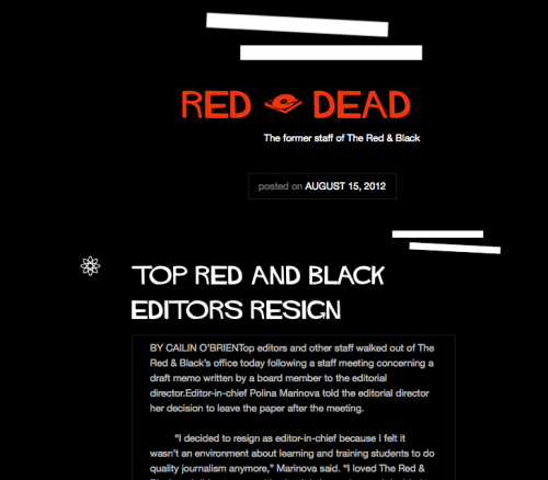 An Open Letter to The Red & Black Board of Directors: